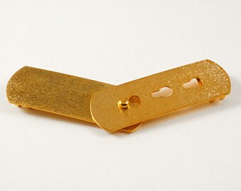 GOLD Metal Closure Buckle by 1 Set, LT-5527