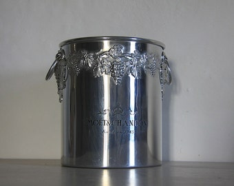 French Vintage Champagne Bucket By Moet & Chandon By Argit