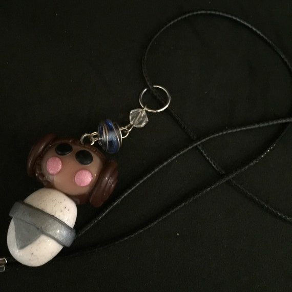 princess leia necklace by madhousetrinkets on etsy