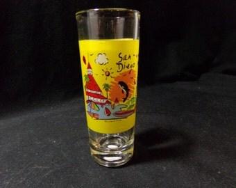 San Diego Souvenir Shot Glass
