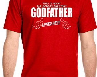 Worlds Greatest Godfather Mens T-Shirt