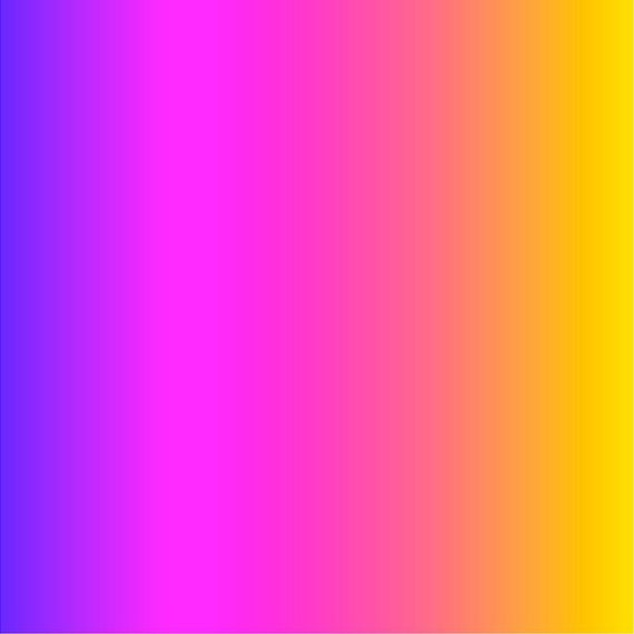 Purple Pink And Yellow Ombre Print Heat Transfer Or Adhesive