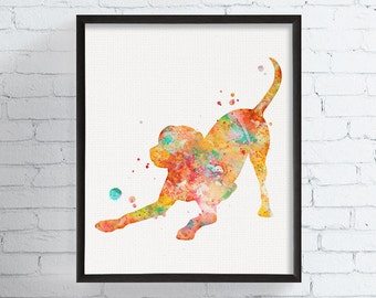 Labrador Retriever Art, Labrador Retriever Print, Watercolor Labrador Retriever, Labrador Retriever Painting, Labrador Retriever Poster