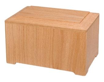 Oak Marquis Wood Cremation Urn