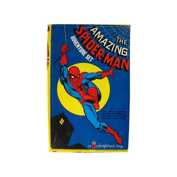 Amazing Spiderman ColorForms from OpenslateCollectibles