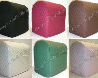 Quilted KitchenAid Stand Mixer Cover w/2 Pockets (11 Colors Available)