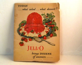 1928 JELL-O Recipe Booklet