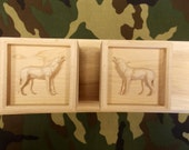 Howling Wolf Shelf Bracke...