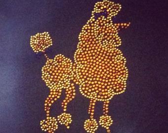 Poodle Bling- Poodle is Gold Bling