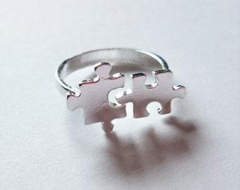 Puzzle Piece Ring