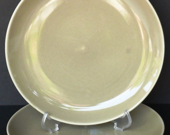 Oyster 9 inch Lunch Plate - Russel Wright - Iroquois Casual China - Vintage