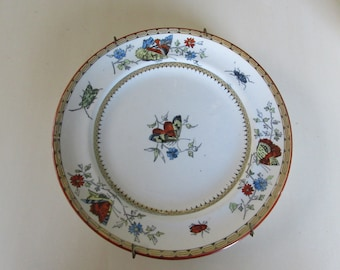 HOLLAND P RAGOUT and Co Maastright Vlinder Plate Wall Hanging