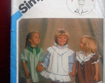 SIMPLICITY GIRL'S PATTERN #6501