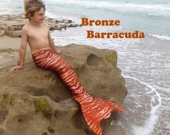 Boys Monofin Fish Tail.  Shark Tail.  Swim Tail for Boys. Merman Tail. Mermaid swim tail
