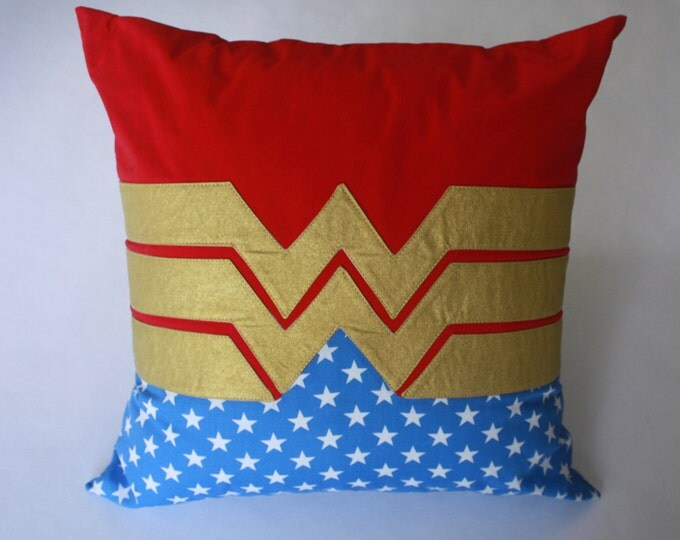 Superhero Pillow--Superhero Girl Pillow--Superhero nursery pillow-MTO