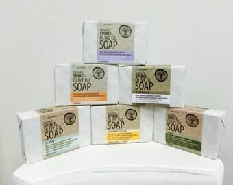 100% Organic Olive Oil Soap
