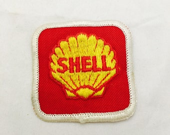 Vintage Shell Iron On Fabric Patch