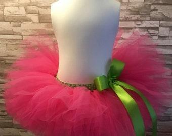 Watermelon Tutu, Pink Tutu, Baby Tutu Skirt