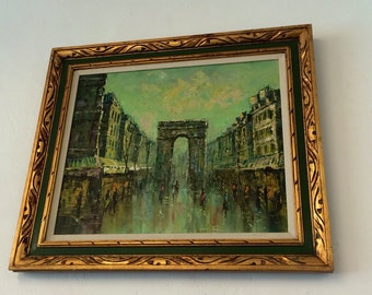 Original MCM Oil Painting by Mary Botto