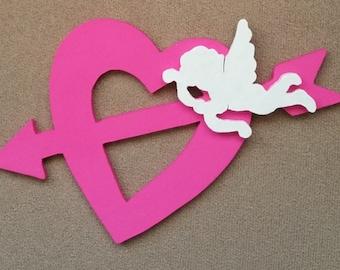 Diva Pink Cupid Heart