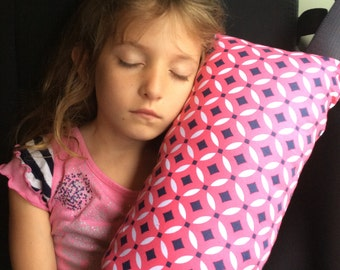 Pink Pattern Seat Belt Pillow