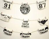 Dan & Phil Inspired Stickers (set #2)
