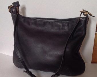 Vintage Coach  Leather Hobo  Shoulder Handbag #9213
