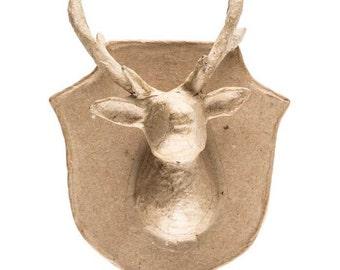 Deer antler jewelry holder faux deer antler by for Fake deer antlers for crafts
