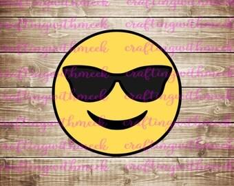 Cool Emoji SVG