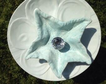 Starfish and Seashell garden Flower