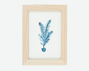 Potted Fern: Original Watercolour Painting