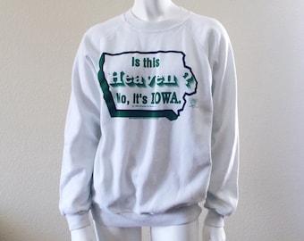 TEN DOLLAR SALE Field of dreams quote vintage sweatshirt