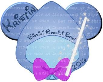 IRON-ON Fairy Godmother Ears! - Mouse Ears Tshirt Transfer