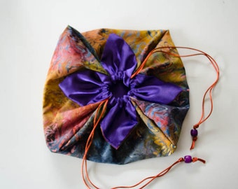XL Wild Colors Lotus Bag