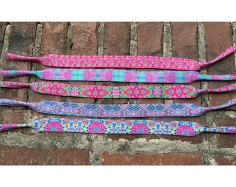Sunglasses Strap, Lilly Pulitizer Inspired Sunglasses Strap, Monogrammed Sunglasses Strap