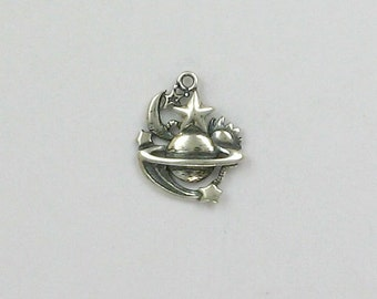 "Sterling Silver ""Universe"" Charm"