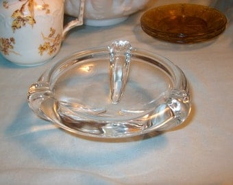 Vintage Quality Glass Dish, Unsigned