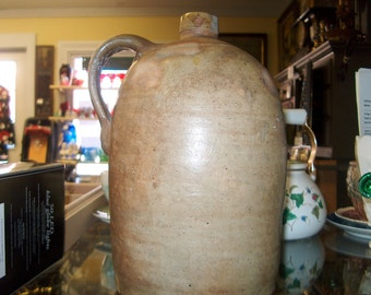 "Early Antique Stoneware Jug, 11 1/2"", WAS 75.00 - 30% = 52.50"