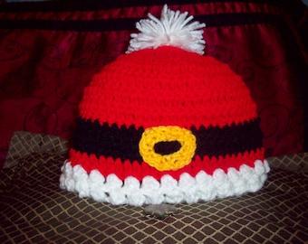 Santa Claus Crochet Hat