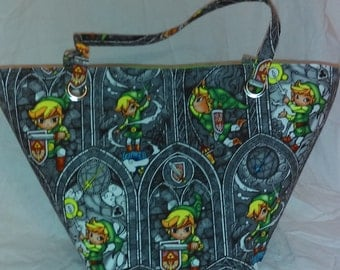Legend of Zelda purse featuring Link