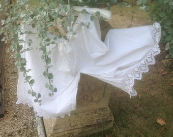 "French Vintage White ""Bloomers""/ Culottes made early last century. Unusual gift for a Bridal Shower."