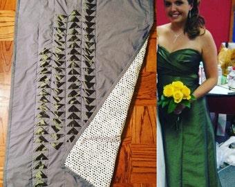 Bridesmaid Dress Quilt