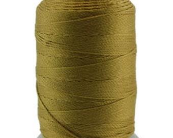 Silk Thread 1/2oz Spool Gold Size F (CD7158)