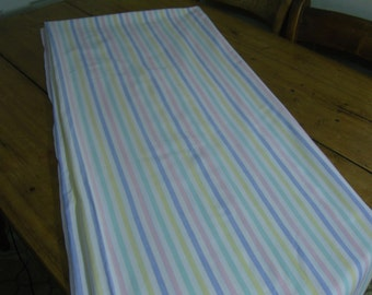 Vintage Candy Stripe Single Bed Sheet