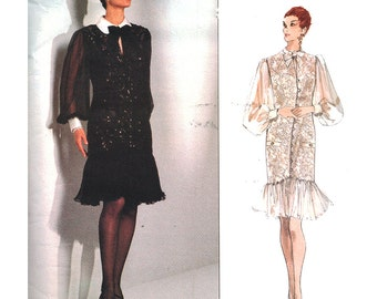 Vogue Sewing Pattern 2786 Misses' Dress by Bellville Sassoon  Size: 12-14-16  Uncut