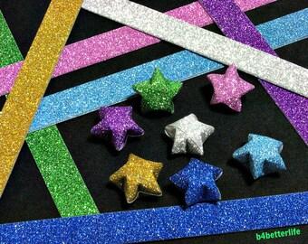 112 strips DIY Origami Star Paper For Folding Medium Size Lucky Stars. 24.5x1.2cm. (HL paper series). #HL71D.