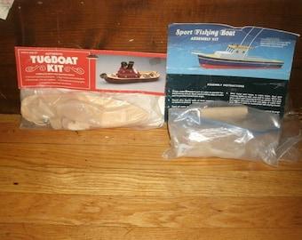 Wooden Tug and Fishing Boat Kits