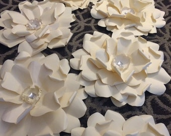 Paper Flowers -set of Seven 15 inch