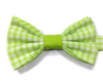 Gingham Bow Tie, Kids Bow Tie, Boys Bow Tie, Childrens Bow Tie, Page Boy Bow Tie, Toddler Bow Tie, Birthday Bow Tie, Wedding Bow Tie