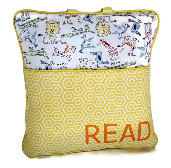 Child s On The Go Reading Pillow Cover travel pillow